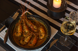 NEGOMBO Clay Pot Prawn Curry